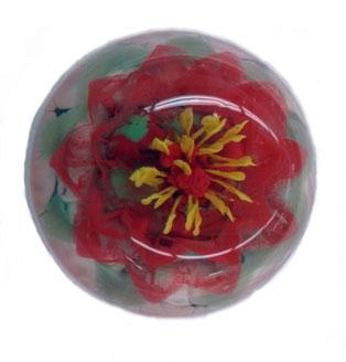 3D Floral design - artistic gelatin flowers